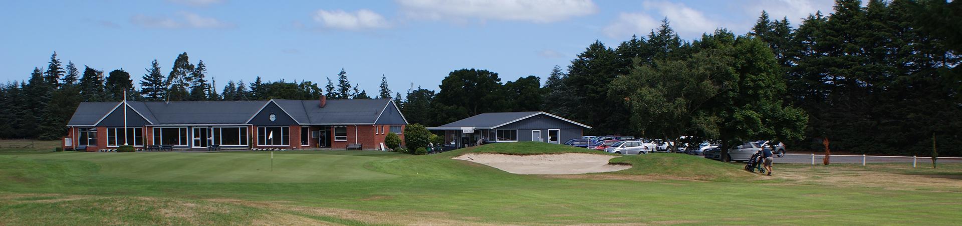 Ashburton Golf Club Inc  - Home